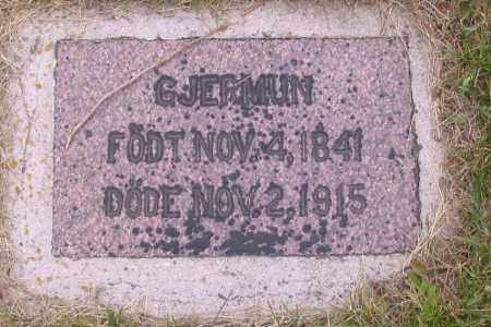 HOVDE, GJERMUN - Barnes County, North Dakota | GJERMUN HOVDE - North Dakota Gravestone Photos