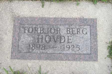 HOVDE, TARBJOR - Barnes County, North Dakota | TARBJOR HOVDE - North Dakota Gravestone Photos