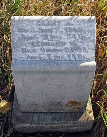 HOWARD, GRANT - Barnes County, North Dakota | GRANT HOWARD - North Dakota Gravestone Photos