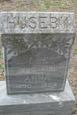 HUSEBY, ANNE - Barnes County, North Dakota   ANNE HUSEBY - North Dakota Gravestone Photos