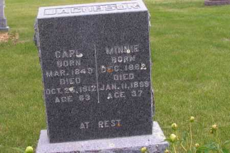 JACOBSON, MINNIE - Barnes County, North Dakota | MINNIE JACOBSON - North Dakota Gravestone Photos