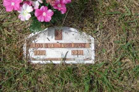 JACOBSON, ROSELLA - Barnes County, North Dakota | ROSELLA JACOBSON - North Dakota Gravestone Photos