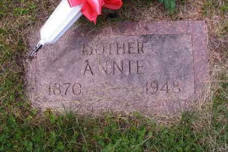 JENSEN, ANNIE - Barnes County, North Dakota | ANNIE JENSEN - North Dakota Gravestone Photos