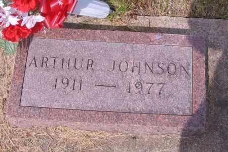 JOHNSON, ARTHUR - Barnes County, North Dakota | ARTHUR JOHNSON - North Dakota Gravestone Photos