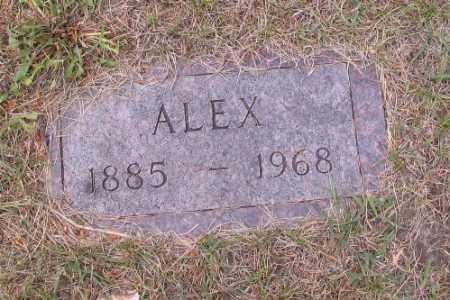 JOHNSON, ALEX - Barnes County, North Dakota   ALEX JOHNSON - North Dakota Gravestone Photos