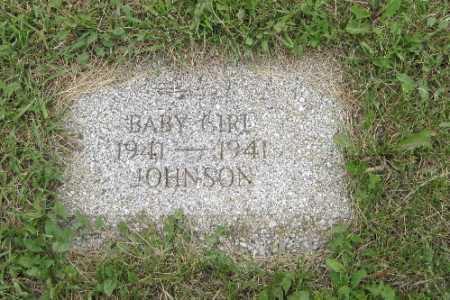 JOHNSON, BABY GIRL - Barnes County, North Dakota   BABY GIRL JOHNSON - North Dakota Gravestone Photos