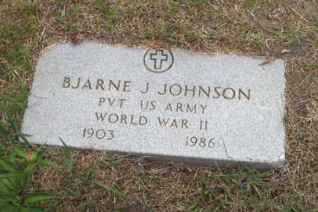 JOHNSON, BJARNE J. - Barnes County, North Dakota | BJARNE J. JOHNSON - North Dakota Gravestone Photos