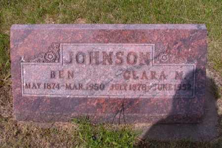 JOHNSON, BEN - Barnes County, North Dakota | BEN JOHNSON - North Dakota Gravestone Photos