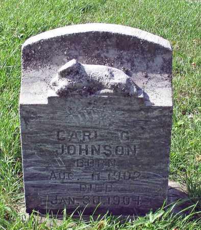 JOHNSON, CARL G. - Barnes County, North Dakota | CARL G. JOHNSON - North Dakota Gravestone Photos