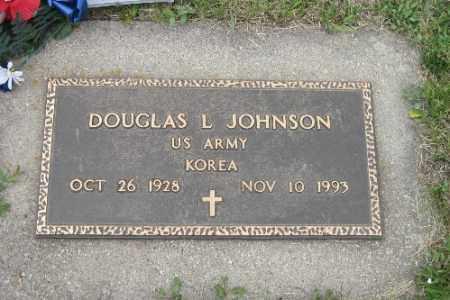 JOHNSON, DOUGLAS L. - Barnes County, North Dakota   DOUGLAS L. JOHNSON - North Dakota Gravestone Photos