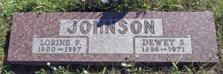 JOHNSON, DEWEY S. - Barnes County, North Dakota | DEWEY S. JOHNSON - North Dakota Gravestone Photos