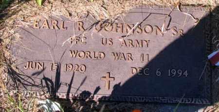 JOHNSON, EARL R. (ARMY) - Barnes County, North Dakota | EARL R. (ARMY) JOHNSON - North Dakota Gravestone Photos