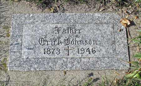 JOHNSON, ERICK - Barnes County, North Dakota | ERICK JOHNSON - North Dakota Gravestone Photos