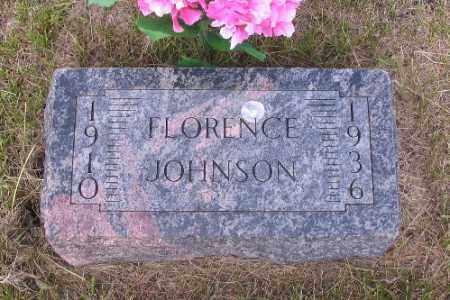 JOHNSON, FLORENCE - Barnes County, North Dakota | FLORENCE JOHNSON - North Dakota Gravestone Photos
