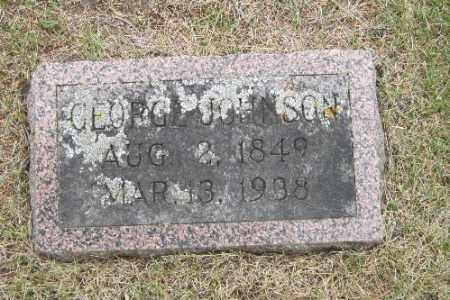 JOHNSON, GEORGE - Barnes County, North Dakota | GEORGE JOHNSON - North Dakota Gravestone Photos