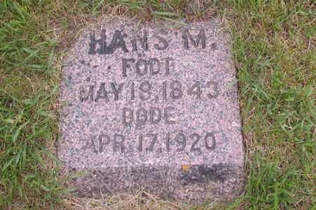 JOHNSON, HANS M. - Barnes County, North Dakota   HANS M. JOHNSON - North Dakota Gravestone Photos