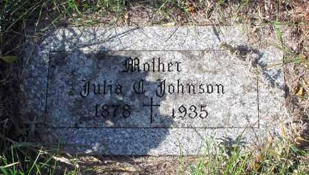 JOHNSON, JULIA - Barnes County, North Dakota | JULIA JOHNSON - North Dakota Gravestone Photos