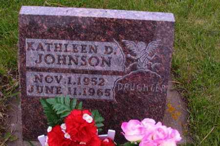 JOHNSON, KATHLEEN D. - Barnes County, North Dakota | KATHLEEN D. JOHNSON - North Dakota Gravestone Photos