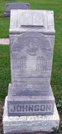 JOHNSON, L. E. - Barnes County, North Dakota   L. E. JOHNSON - North Dakota Gravestone Photos
