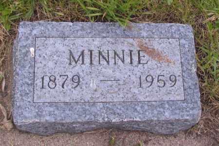 JOHNSON, MINNIE - Barnes County, North Dakota | MINNIE JOHNSON - North Dakota Gravestone Photos