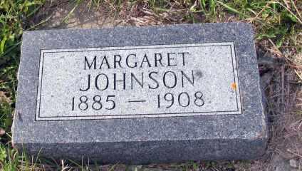 JOHNSON, MARGARET - Barnes County, North Dakota | MARGARET JOHNSON - North Dakota Gravestone Photos