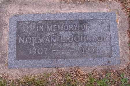 JOHNSON, NORMAN L. - Barnes County, North Dakota   NORMAN L. JOHNSON - North Dakota Gravestone Photos