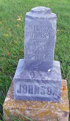 JOHNSON, NILS M. - Barnes County, North Dakota | NILS M. JOHNSON - North Dakota Gravestone Photos