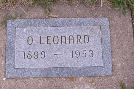 JOHNSON, O. LEONARD - Barnes County, North Dakota | O. LEONARD JOHNSON - North Dakota Gravestone Photos