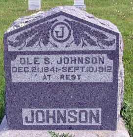 JOHNSON, OLE S. - Barnes County, North Dakota | OLE S. JOHNSON - North Dakota Gravestone Photos