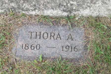 JOHNSON, THORA A. - Barnes County, North Dakota | THORA A. JOHNSON - North Dakota Gravestone Photos