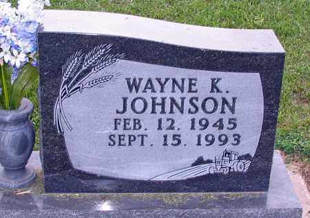 JOHNSON, WAYNE K. - Barnes County, North Dakota | WAYNE K. JOHNSON - North Dakota Gravestone Photos