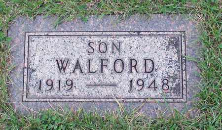 JOHNSON, WALFORD - Barnes County, North Dakota   WALFORD JOHNSON - North Dakota Gravestone Photos