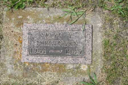 JORGENSON, ARLYS Y. - Barnes County, North Dakota | ARLYS Y. JORGENSON - North Dakota Gravestone Photos