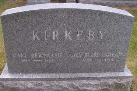 HOILAND KIRKEBY, LILLY ELSIE - Barnes County, North Dakota   LILLY ELSIE HOILAND KIRKEBY - North Dakota Gravestone Photos
