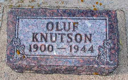 KNUTSON, OLUF - Barnes County, North Dakota | OLUF KNUTSON - North Dakota Gravestone Photos