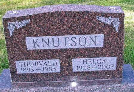 KNUTSON, HELGA - Barnes County, North Dakota | HELGA KNUTSON - North Dakota Gravestone Photos