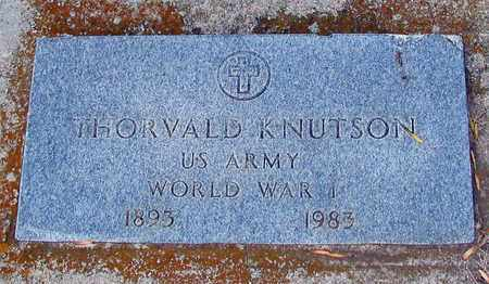 KNUTSON, THORVALD - Barnes County, North Dakota | THORVALD KNUTSON - North Dakota Gravestone Photos