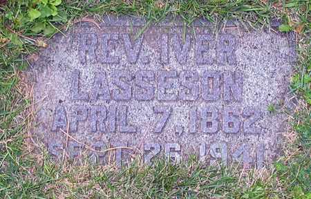 LASSESON, IVER, REV. - Barnes County, North Dakota | IVER, REV. LASSESON - North Dakota Gravestone Photos