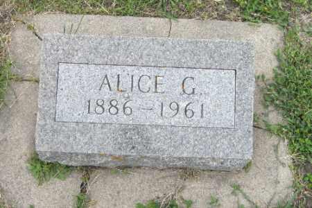 LEE, ALICE G. - Barnes County, North Dakota | ALICE G. LEE - North Dakota Gravestone Photos
