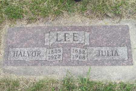 LEE, JULIA - Barnes County, North Dakota | JULIA LEE - North Dakota Gravestone Photos