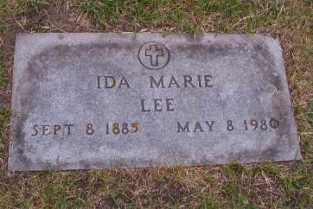 LEE, IDA MARIE - Barnes County, North Dakota | IDA MARIE LEE - North Dakota Gravestone Photos