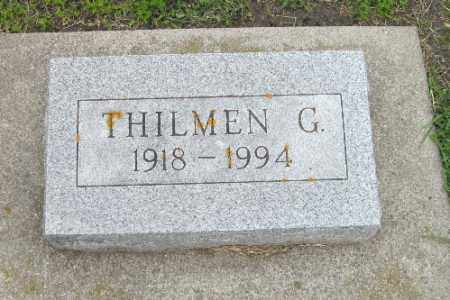LEE, THILMEN G. - Barnes County, North Dakota | THILMEN G. LEE - North Dakota Gravestone Photos