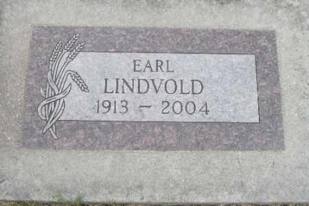 LINDVOLD, EARL - Barnes County, North Dakota | EARL LINDVOLD - North Dakota Gravestone Photos