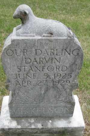 MIKKELSON, DARVIN STANFORD - Barnes County, North Dakota | DARVIN STANFORD MIKKELSON - North Dakota Gravestone Photos