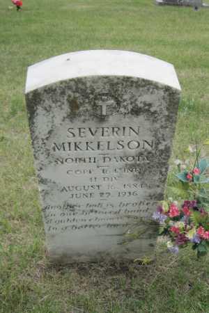 MIKKELSON, SEVERIN - Barnes County, North Dakota | SEVERIN MIKKELSON - North Dakota Gravestone Photos