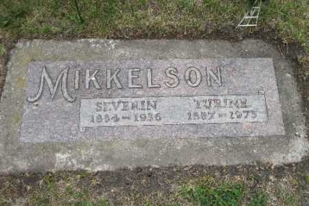 MIKKELSON, TURINE - Barnes County, North Dakota   TURINE MIKKELSON - North Dakota Gravestone Photos