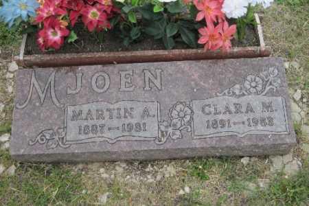 MJOEN, CLARA M. - Barnes County, North Dakota | CLARA M. MJOEN - North Dakota Gravestone Photos