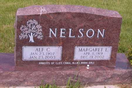NELSON, ALF C. - Barnes County, North Dakota | ALF C. NELSON - North Dakota Gravestone Photos