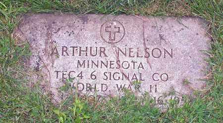 NELSON, ARTHUR - Barnes County, North Dakota   ARTHUR NELSON - North Dakota Gravestone Photos