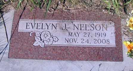 NELSON, EVELYN J. - Barnes County, North Dakota | EVELYN J. NELSON - North Dakota Gravestone Photos